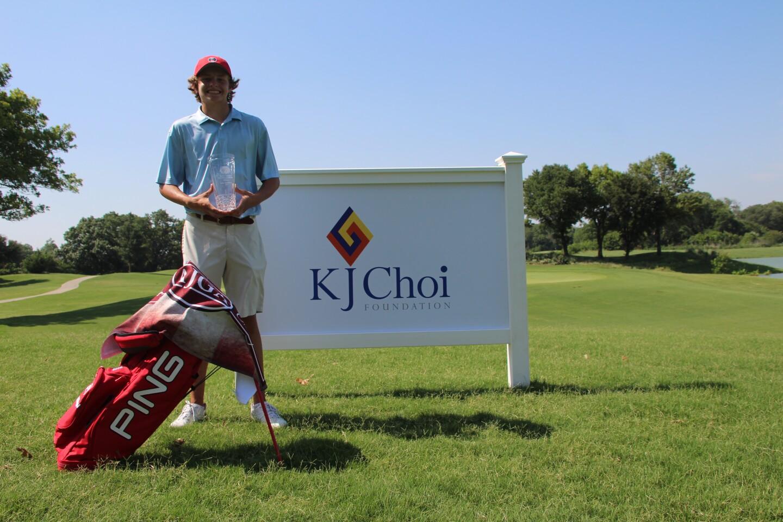 Ben DeLaRosa KJ Choi Boy Champion 2020 Golf Bag.JPG