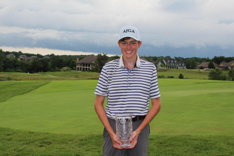 Jake Wiktor AJGA Hat  -2020- AJGA Stan Utley and Mid America Youth Golf Foundation Junior Championship.JPG