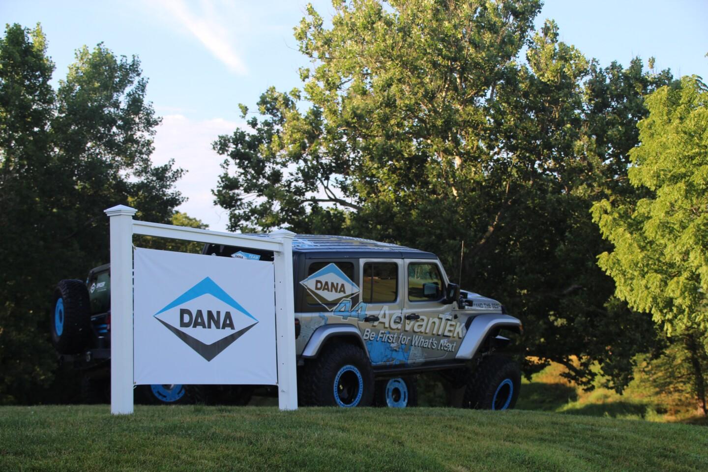 2020 Dana Incorporated signage