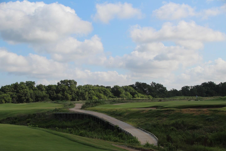 Under Armour Jordan Spieth Championship 2020 Course Scenery Bridge View.JPG