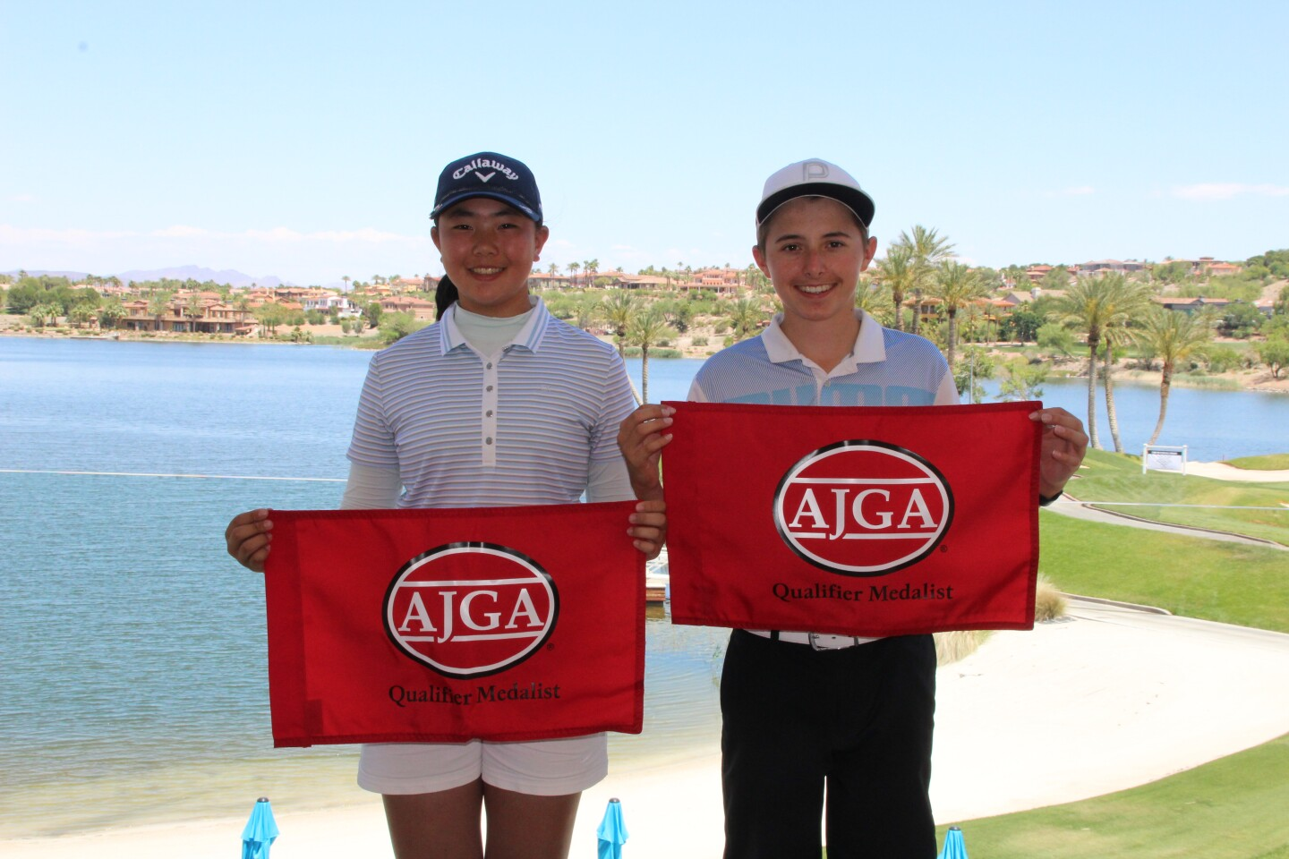 Qualifier Medalists at AJGA Lake Las Vegas Junior hosted by Danielle Kang