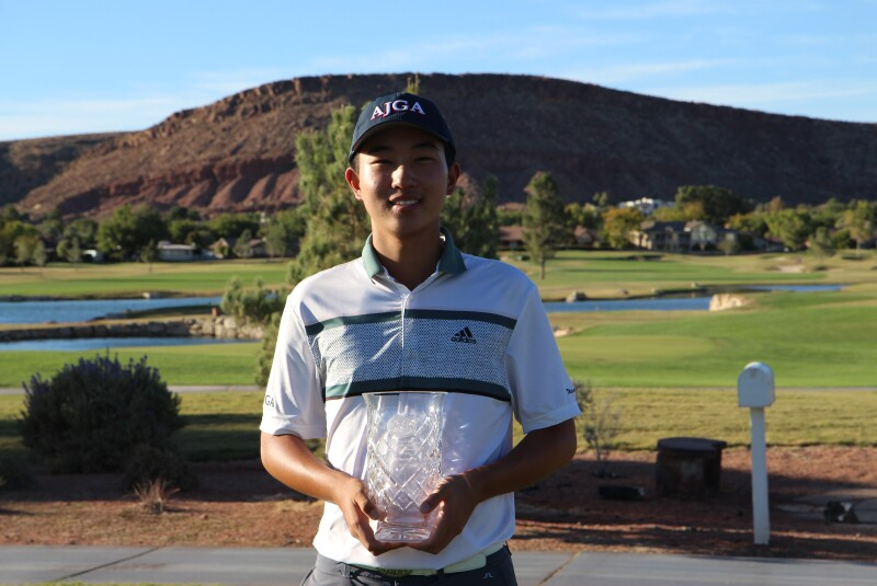 Jihan (Daniel) Heo 2020 AJGA Junior Open presented by Greater Zion Convention and Tourism (14).JPG