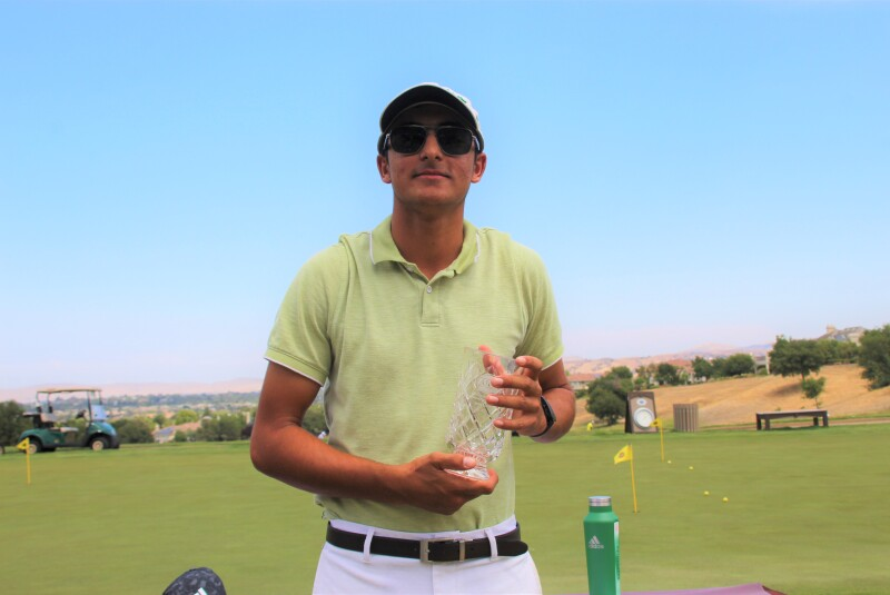 Kush Arora with trophy-2021-AJGA Junior at Ruby Hill  presented by Visit Tri-Valley.JPG