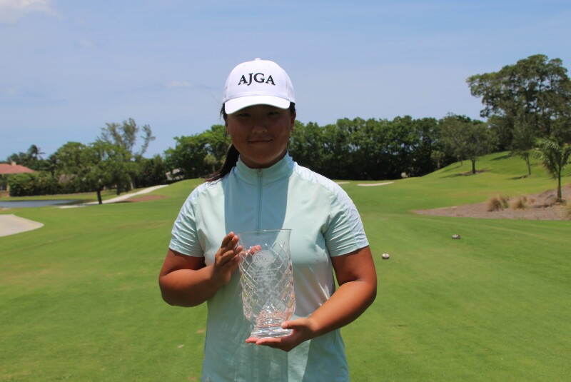 Mi Li 1st Place - 2021 - AJGA Junior Championship presented by the Spinnaker Foundation (1).JPG