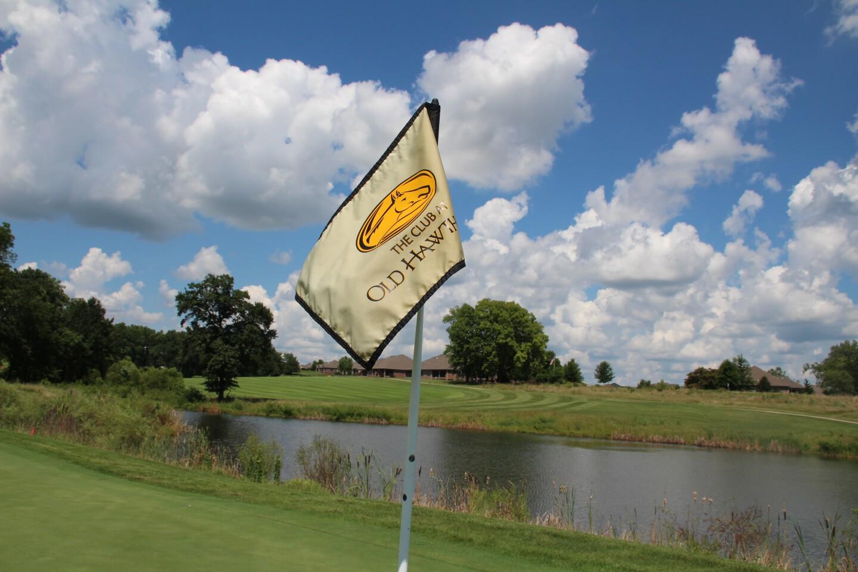 Flag on 5-2020 AJGA Stan Utley and Mid-America Youth Golf Foundation Junior Championship.JPG