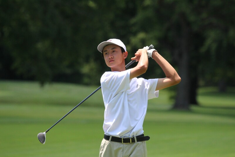 Colin Le second round leader -2020-AJGA Junior All-Star at Urbana.JPG