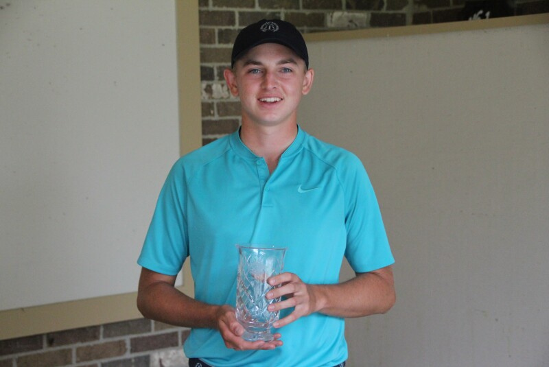 Memorial Jr Championship - Tyler Groomes - Hickory Hills Golf Club - Awards - 2021 (2).JPG