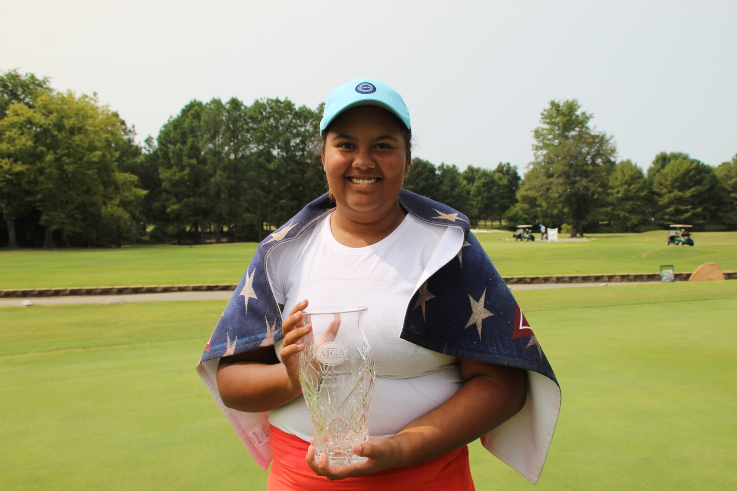 Kasey Maralack Champ Picture - 2020 - AJGA Preview at Lost Springs.JPG