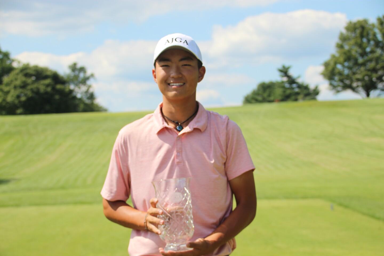 Bryan Lee with trophy - 2020 - Justin Thomas Junior Championship.JPG