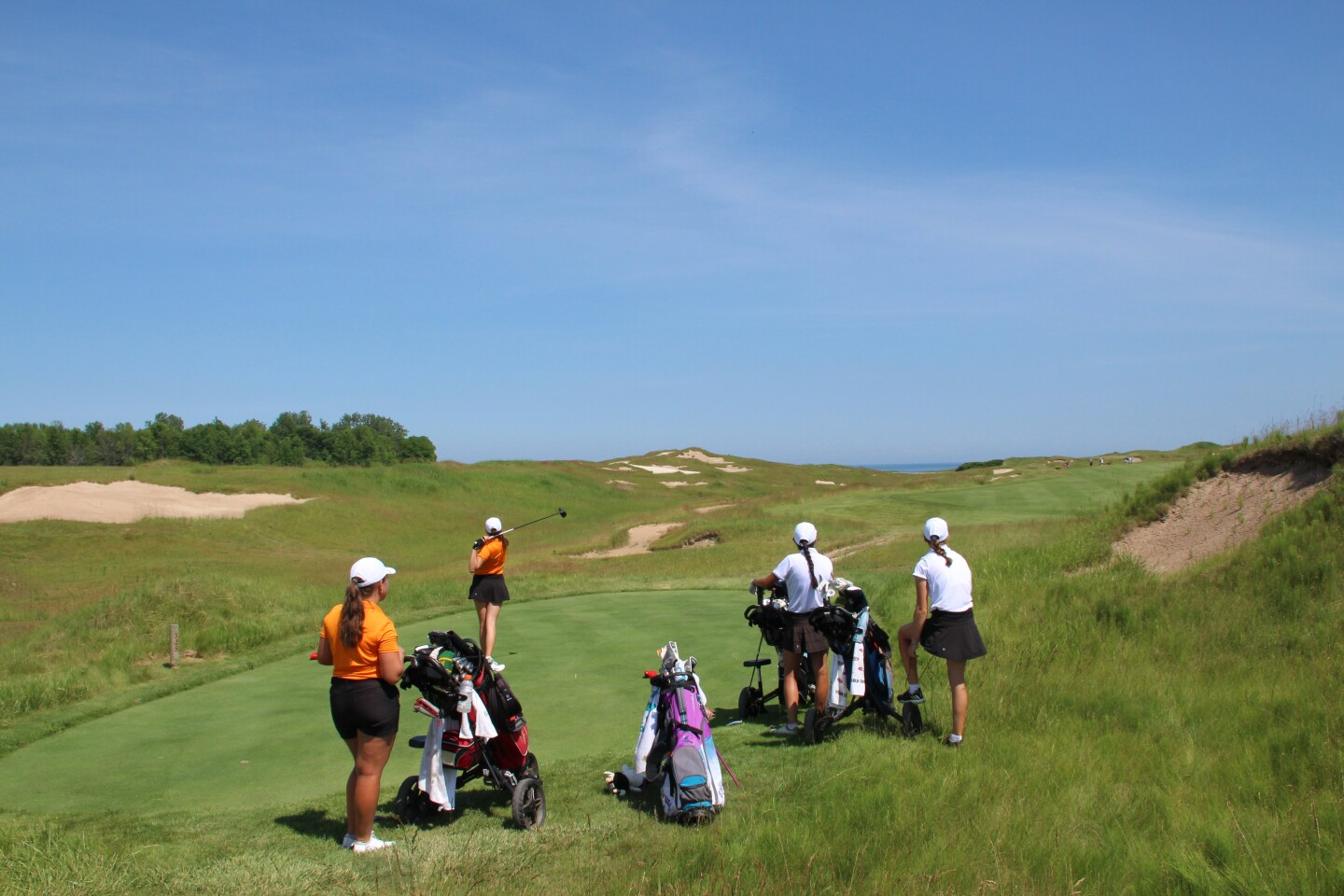 2020 Wisconsin Cup Junior playing Whistling Straits - Straits Course