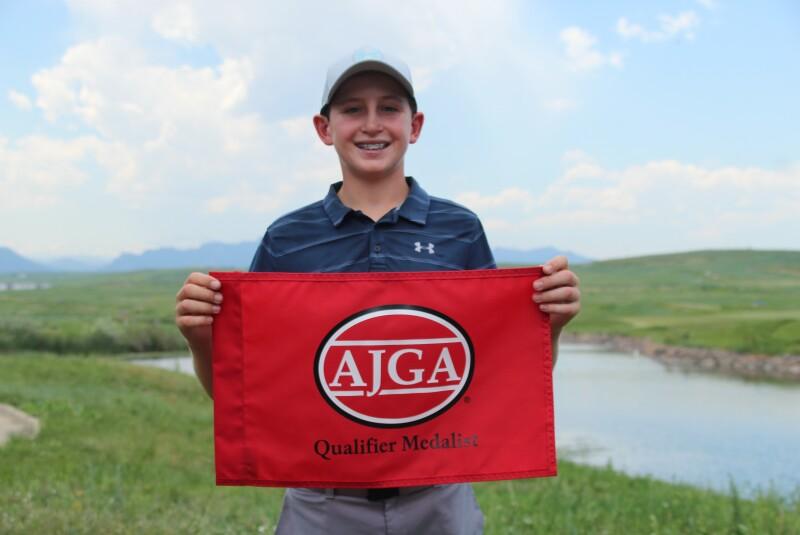Luke Bailey Qualifier Flag -2021 Hale Irwin Jr..JPG