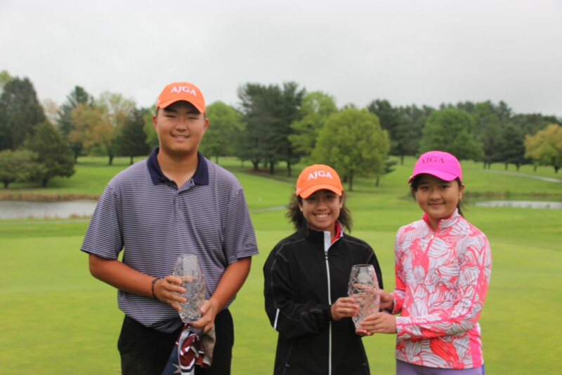 Rita Liu, Angelina Tolentino, Bryan Lee- AJGA Preview at Chesapeake Bay 2019.JPG