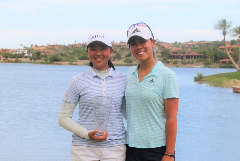 Fiona Xu - Champion - - 2019 - AJGA Lake Las Vegas hosted by Danielle Kang.JPG