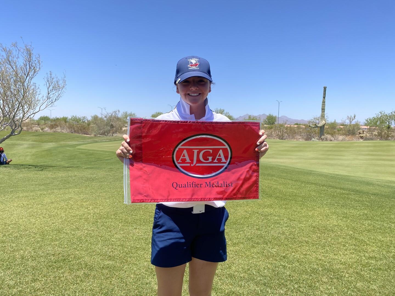 Gracie McGovern Qualifier Medalist - 2021 - UA Albane Girls Champ