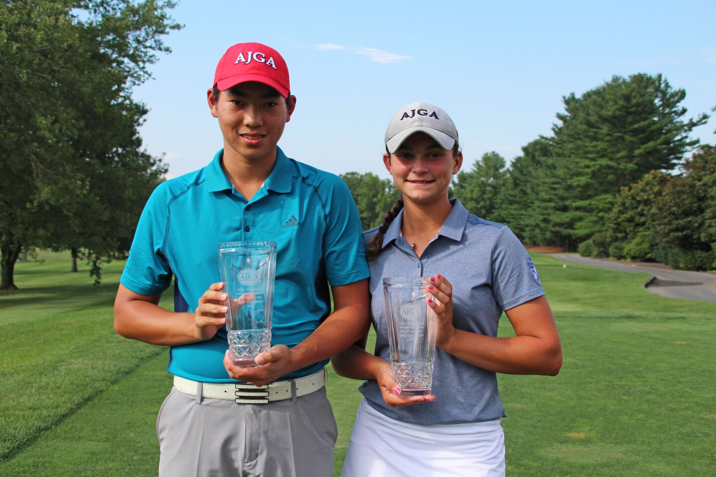 Tony Chen and Haley Quickel, Champs-2019-UHY - The First Tee of Greater Baltimore Junior Championship.jpg