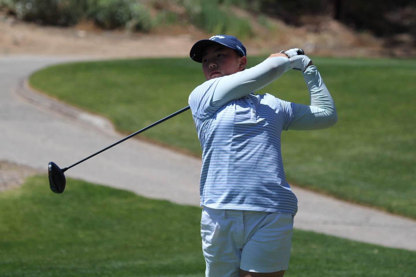 Fiona Xu leads by two after first round