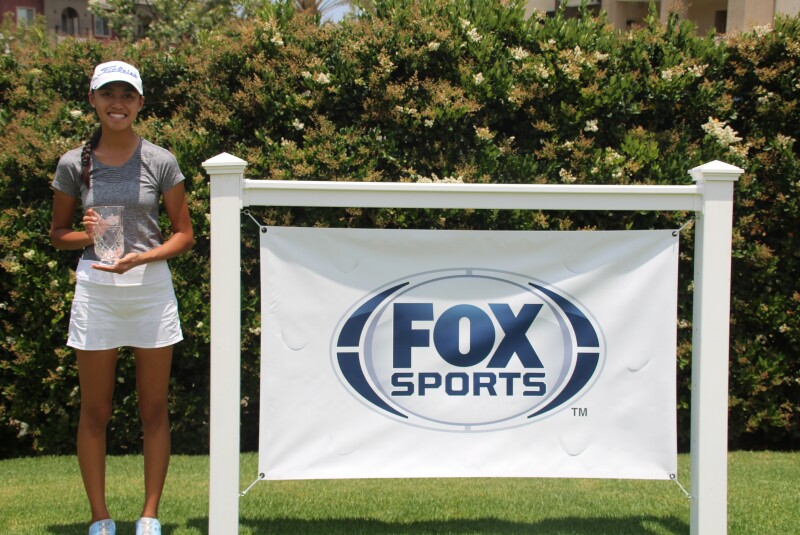 Tiffany Le Girls Runner-up with FOX Sports Banner-FOX Sports Junior at Mission Viejo-2021.JPG