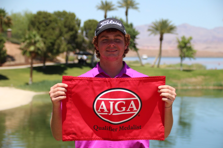 Zach Carter Medalist Flag - AJGA Lake Las Vegas Jr - 2021.JPG