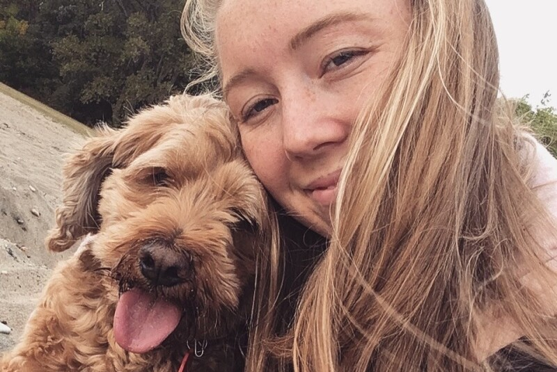 Katie Nord with her dog Penelope.png