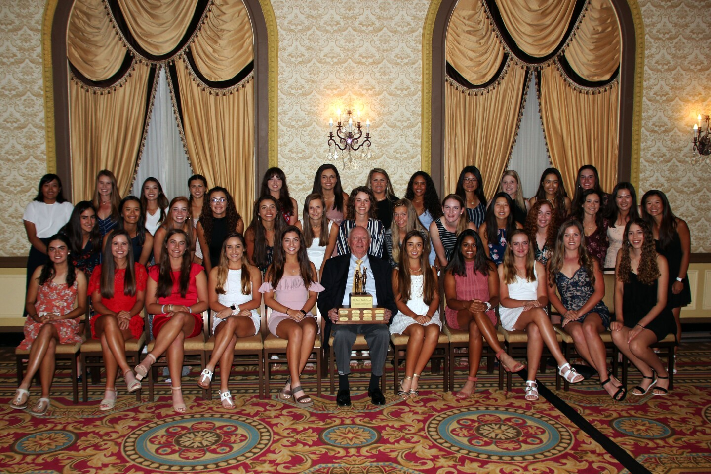 AJGA Girls Championship Field Photo with Betsy Rawls Award Winner Digger Smith - - 2019 - AJGA Girls Championship (2).JPG