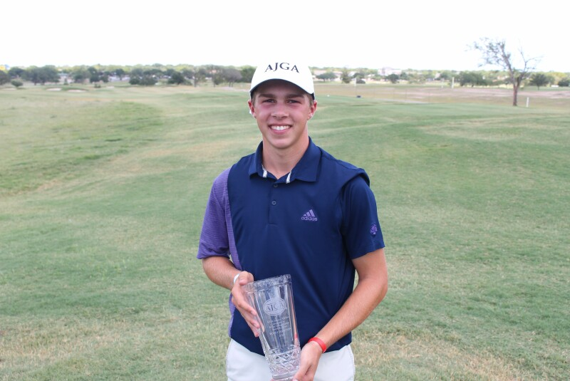 Jay Mendell trophy - Awards Photos - 2020 - AJGA Junior All-Star presented by Bryan College Station Sports & Events (18).JPG