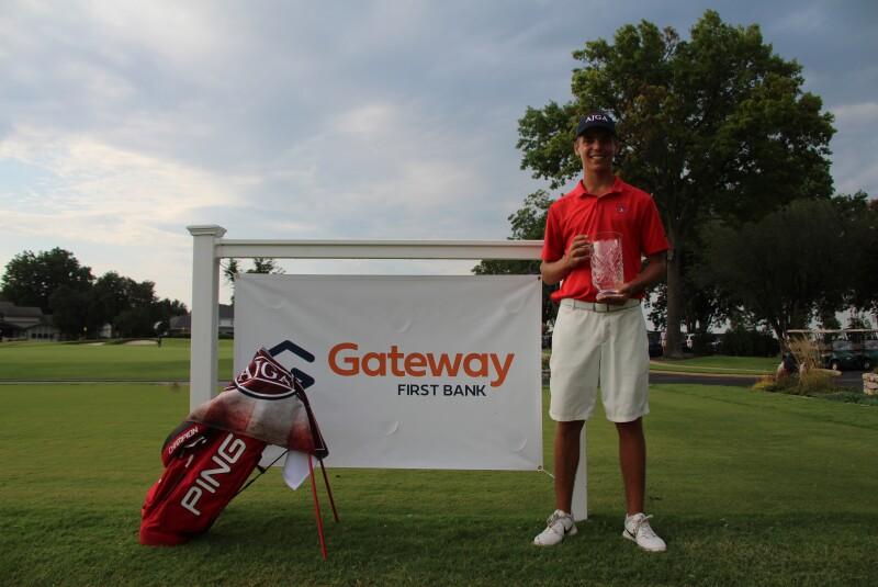 Matthew Spaulding Bag Gateway First Bank Tulsa Junior Hosted By Bo Van Pelt.JPG