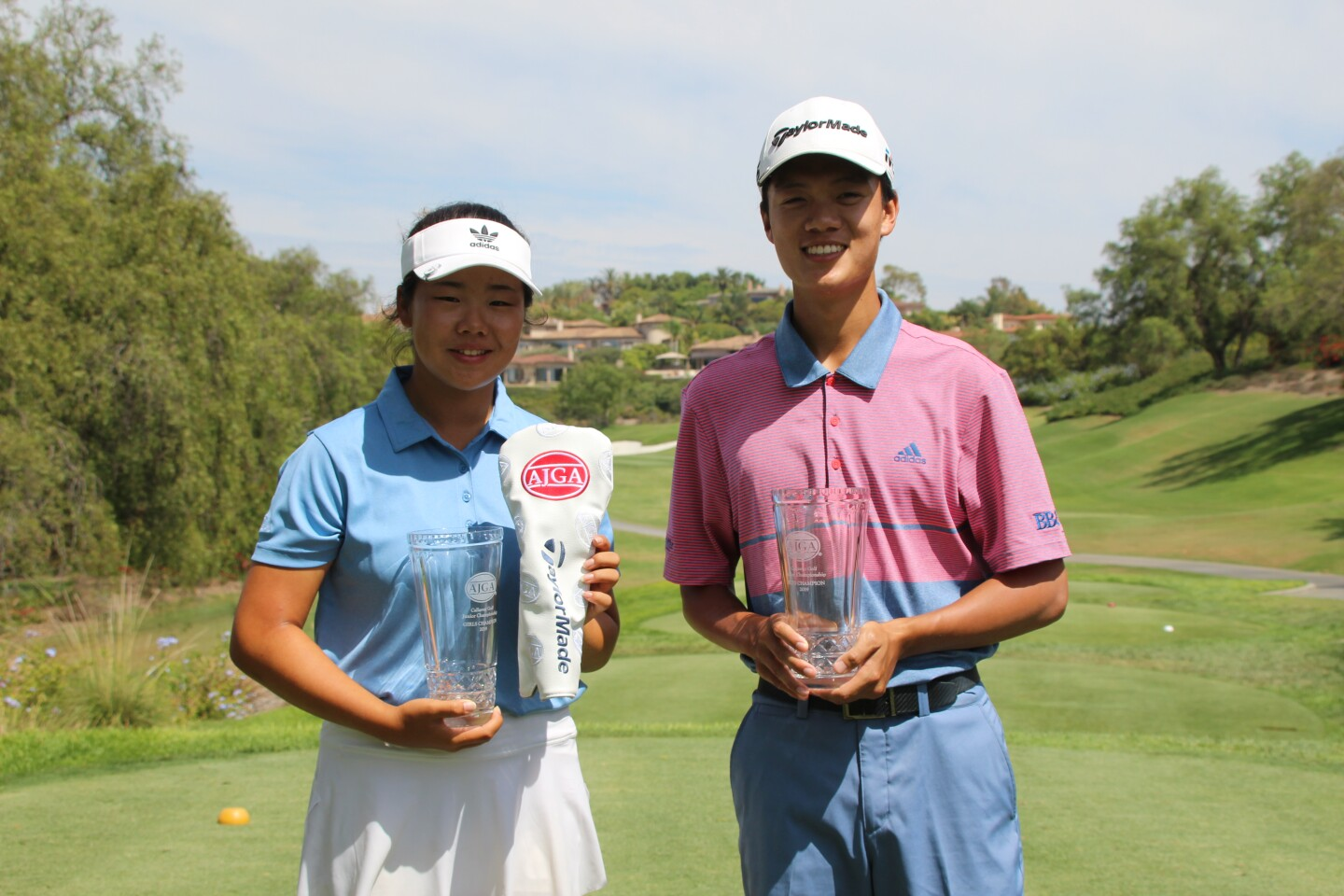 Ashley Yun and Brian Ma - Champions - 2019 - Callaway Golf Junior Championship.JPG