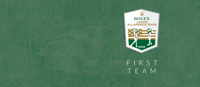 Rolex Junior All-America Teams - First Team Graphic