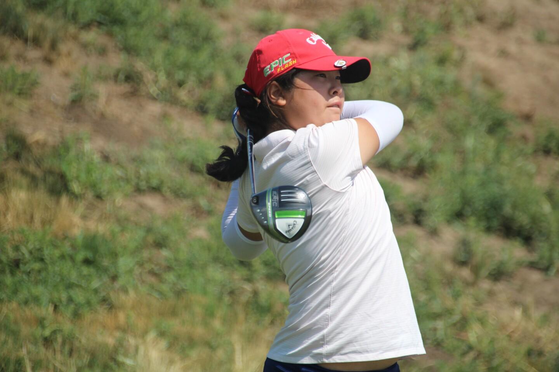 Alice Ziyi Zhao Round 2 Tee Shot-AJGA Junior at Palouse Ridge-2021.JPG