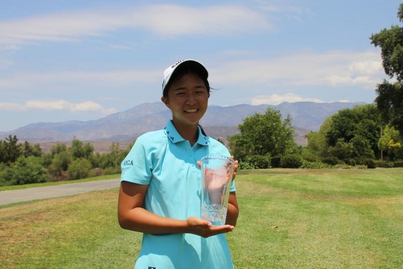 Kristina Xu runner up trophy -2021- AJGA Junior All-Star at Morongo.JPG