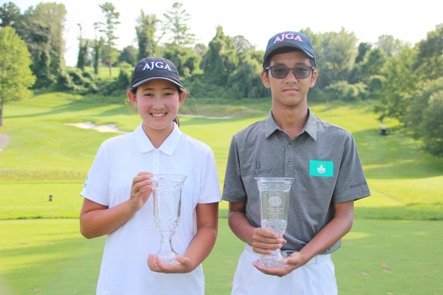 Yuan, Ma Champion Photo without Sign - 2019 - Golf Performance Center Junior All-Star.JPG