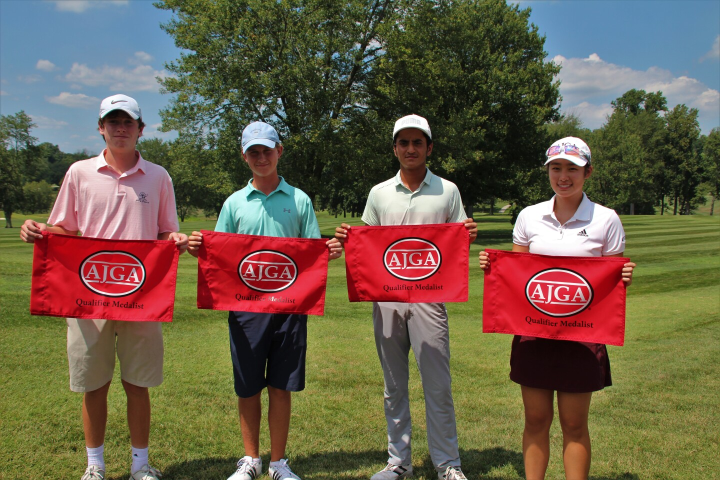 Maddaloni, Hemsley, Singh, and Zhang Qualifier Medalists
