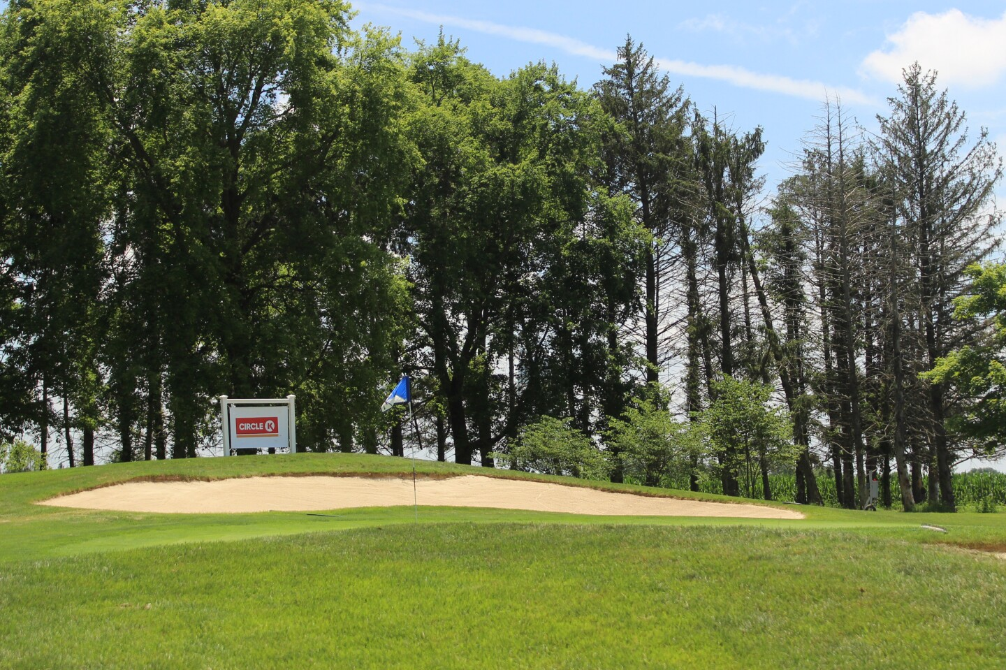 Circle K banner with flag and trees - 2018 - Circle K Junior Championship hosted by Otter Creek.jpg