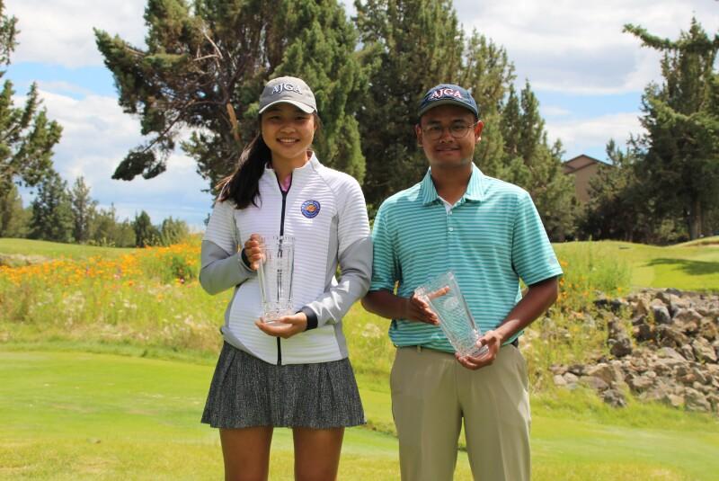 Caris Kim & Alfred Raja, Champions - 2019 - Eagle Crest Junior Championship2.JPG