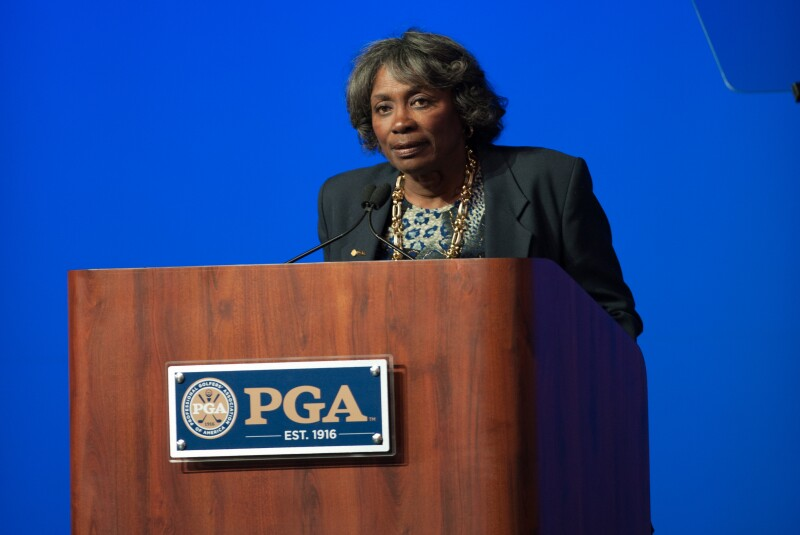 100th PGA Annual Meeting Renee Powell