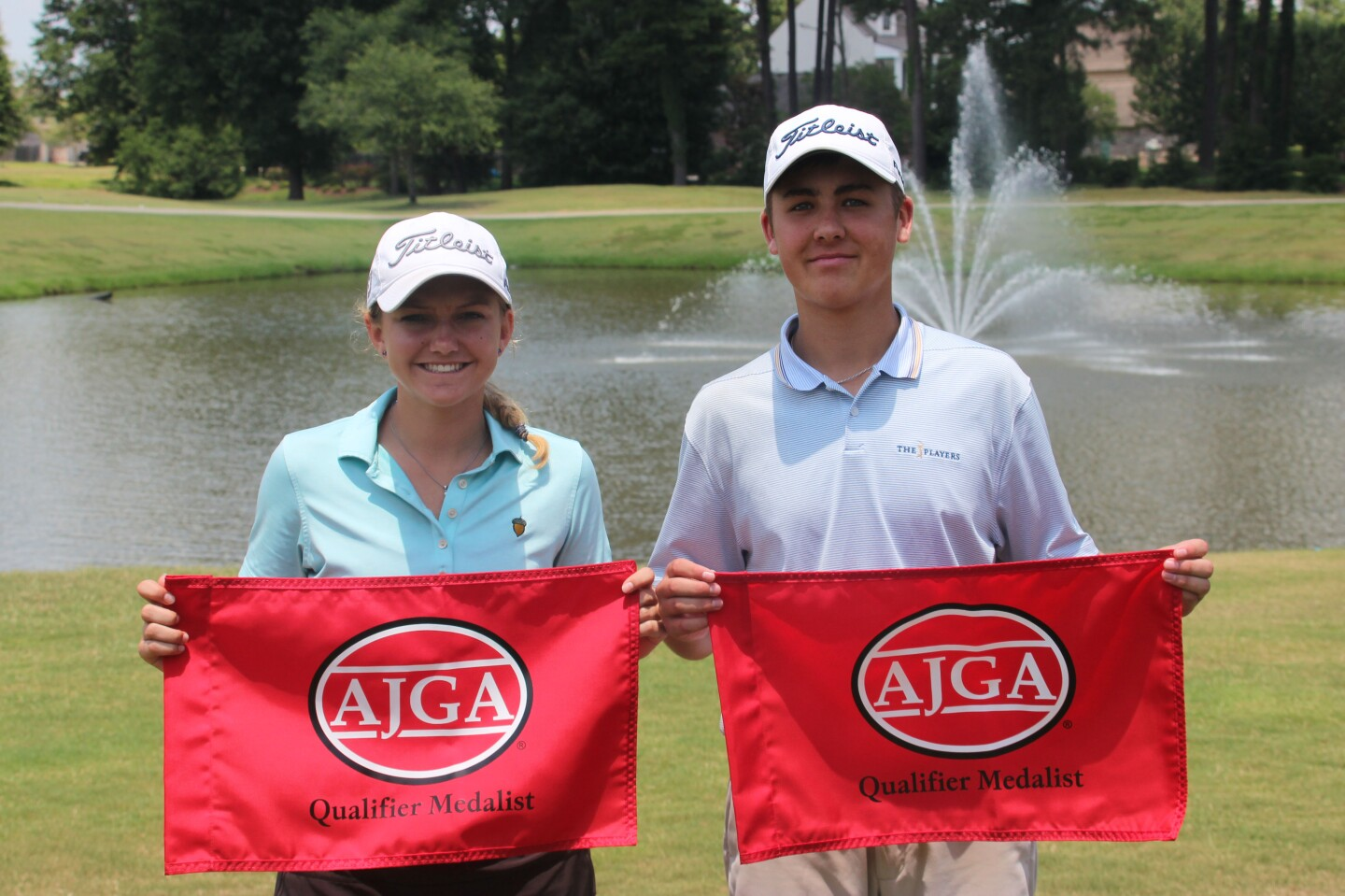 Hallie Kuhns and Eli Ortego qualifier medalist for website- 2019- AJGA Junior Championship at The University Club.jpg