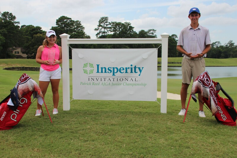 Insperity Invitational / Patrick Reed AJGA Junior Championship winners