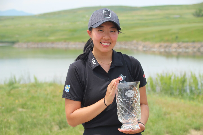 Lauren Kim with trophy -2021 Hale  Irwin Colorado Jr..JPG