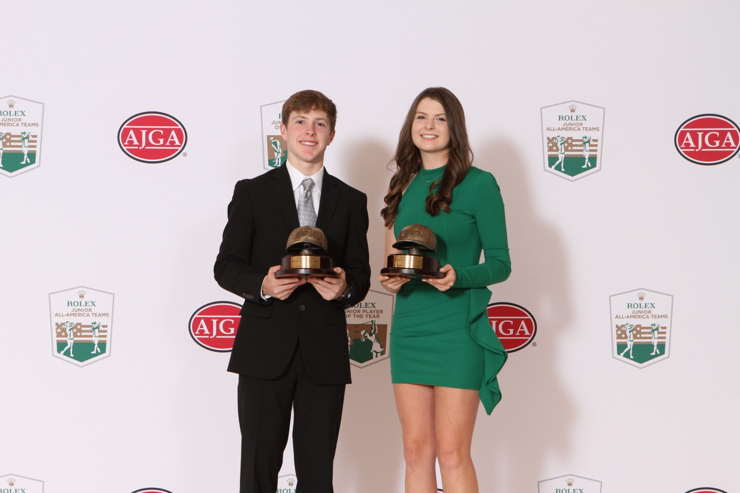 2019 Jerry Cole Sportsmanship Award Winners - James Roller and Charlotte Hillary