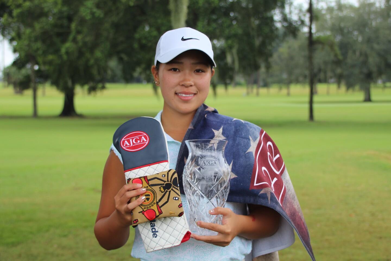 sakurako tanaka winner medalist preview ocala