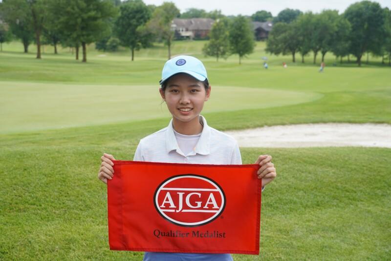 Victoria Wang Medalist Photo-AJGA Stan Utley and Mid-America Youth Golf Foundation Junior Championship-2021 (3).JPG