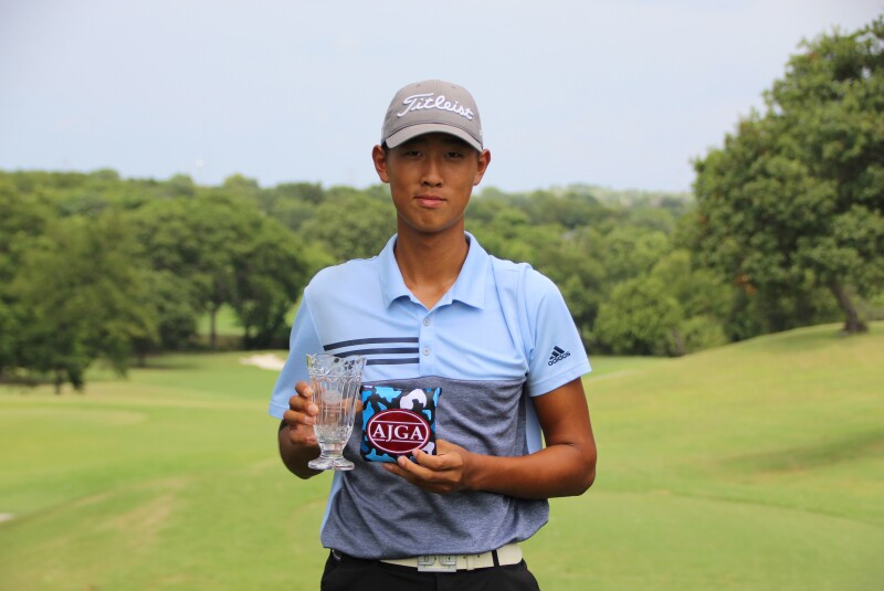 2021 - Byungho Lee - Boys Top 5 and Low Final - Awards - AJGA Junior at Squaw Creek (30).JPG