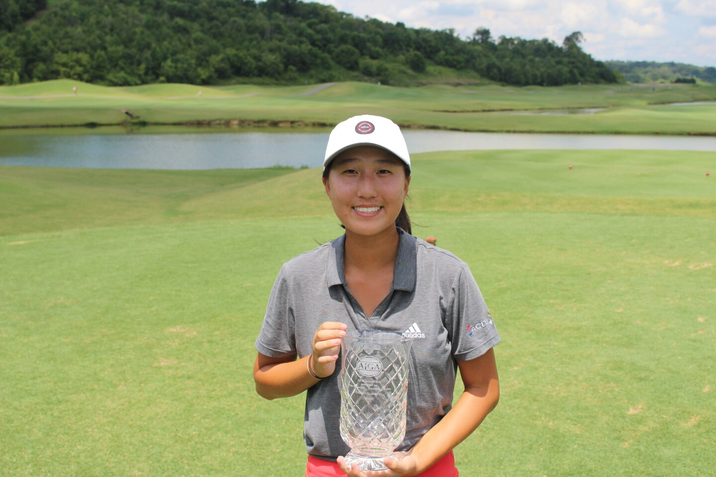 Sara Im - trophy Awards photo - 2020 - AJGA Junior Open presented by Visit Sevierville - Tennessee Tourism (2).JPG