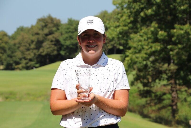 Anna Kate Nicholas Trophy Photo on No 1 - Accenture NW Arkansas.JPG