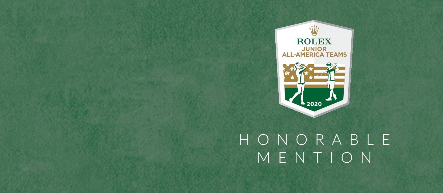Rolex Junior All-America Teams - Honorable Mention Graphic