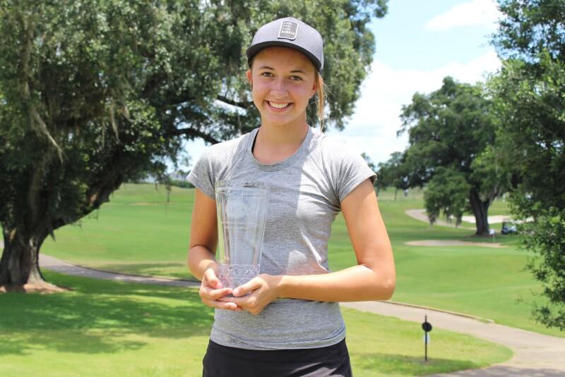 Haley Davis Champ Trophy and Hat - Visit Tallahassee JAS - 2021 (133).JPG