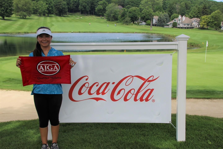 2021 - Lisa Copeland - Girls Qualifier Medalist - Qualifier - Coca Cola Junior Championship at Boyne Highlands.JPG