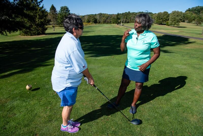 Renee Powell Golf Teacher