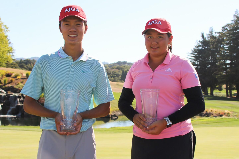 Brian Ma and Sophie Zhang-Murphy - Boys and Girl's Champ - 2019 - AJGA Junior at Palo Alto2.jpg