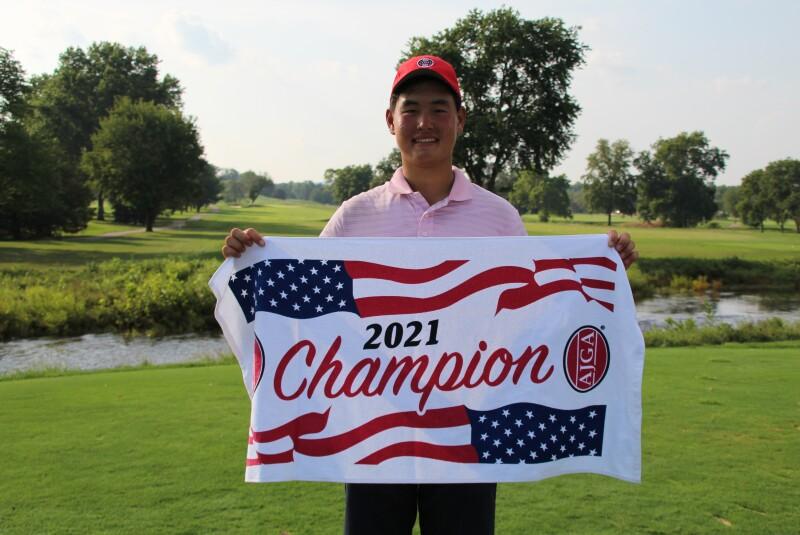 Bryan Kim Champ Towel - 2021 - KJ Choi Foundation Junior Championship (1).JPG